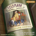 Telemann: Overtures / Violin Concerto in B-Flat Major / Concerto for Recorder and Flute in E Minor