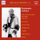The Gigli Edition, Vol. 11: Milan, Berlin & Rome Recordings