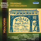 Kodaly, Z.: Complete Songs for Voice and Piano