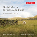 British Works for Cello & Piano, Vol. 2