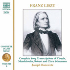 Liszt: Song Transcriptions