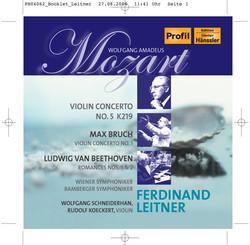 Mozart: Violin Concerto No. 5 / Bruch: Violin Concerto No. 1 / Beethoven: Romances Nos. 1 and 2
