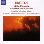 Britten: Violin Concerto / Canadian Carnival / Mont Juic