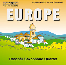Europe -  Music for Saxophone Quartet