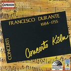 Durante, F.: Concertos for Strings Nos. 1-6 (Concerto Cologne)