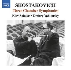 Shostakovich: 3 Chamber Symphonies