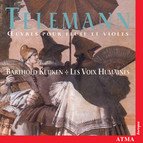 Telemann: Works for Flute and Viola Da Gamba