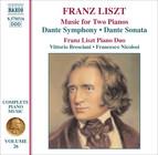 Liszt: Dante Symphony / Dante Sonata (Arr. for 2 Pianos)