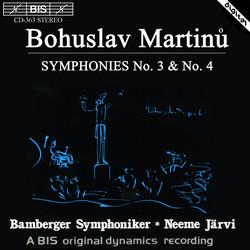 Martinu - Symphonies No.3 & No.4