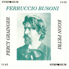 Busoni, Grainger & Petri (1922-1953)