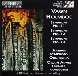 Holmboe - Symphonies No.11, 12 & 13