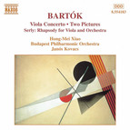 Bartok: Viola Concerto / 2 Pictures, Bb 59