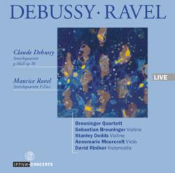 Debussy: String Quartet Op. 10 / Ravel: String Quartet in F major / Breuninger Quartet