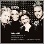 Brahms: String Quartet op.51/1, Piano Quintet, Op.34