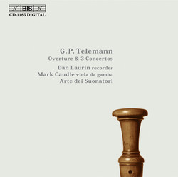 Telemann - Overture & 3 Concertos