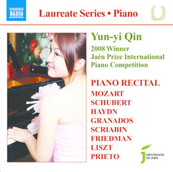 Piano Recital: Yun-Yi Qin - Mozart, W.A. / Schubert, F. / Haydn, J. / Granados, E. / Scriabin, A. / Friedman, I. / Liszt, F. / Prieto, C.