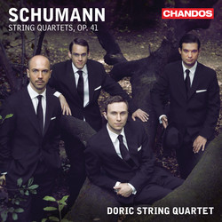 Schumann: Three String Quartets, Op. 41