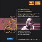 Tchaikovsky, P.I.: Violin Concerto / Mozart, W.A.: Violin Concerto No. 5 (D. Oistrakh, Konwitschny) (Staatskapelle Dresden Edition, Vol. 3)