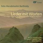 Mendelssohn: Lieder mit Worten fr gemischten Chor von Bernd Stegmann