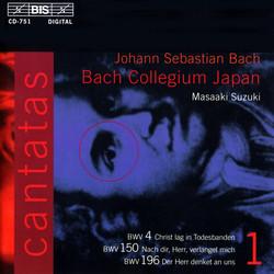 J.S. Bach - Cantatas, Vol.1 (BWV 4, 150, 196)