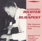 Richter in Budapest