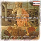 Telemann, G.P.: Cantatas for Easter and Pentecost (Harmonischer Gottesdienst)