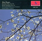 Reger, M.: Variations and Fugue On A Theme of Mozart / Eine Romantische Suite