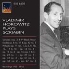 Vladimir Horowitz plays Scriabin (1953-1956)