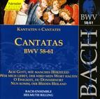 Bach, J.S.: Cantatas, Bwv 58-61