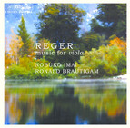 Reger - Music for viola
