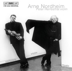 Arne Nordheim - Complete Violin Music