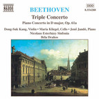 Beethoven: Triple Concerto, Op. 56 / Piano Concerto in D Major, Op. 61A
