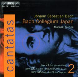 J.S. Bach - Cantatas, Vol.2 (BWV 71, 131, 106)