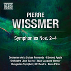 Wissmer: Symphonies Nos. 2-4