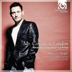 Mr. Corelli in London: Recorder Concertos, La Follia, after Corelli's op.5