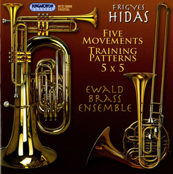 Hidas: 5 Movements - Training Patterns for Brass Quintet - 5 x 5