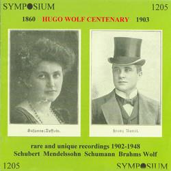 Hugo Wolf Centenary (1902-1948)