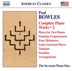 Bowles: Complete Piano Works, Vol. 2