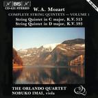 Mozart - Complete String Quintets, Vol.1