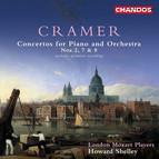 Cramer: Piano Concertos Nos. 2, 7, and 8