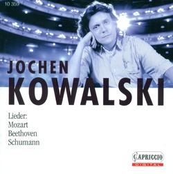 Vocal Recital: Kowalski, Jochen - Schumann, R. / Myslivecek, J. / Mozart, W.A. / Beethoven, L. Van