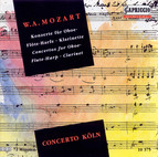 Mozart, W.A.: Oboe Concerto / Concerto for Flute and Harp / Clarinet Concerto