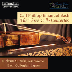 C.P.E. Bach - The Three Cello Concertos