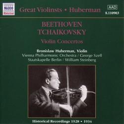 Tchaikovsky / Beethoven: Violin Concertos (Huberman) (1928, 1934)