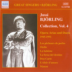 Jussi Björling Collection, Vol. 4: Opera Arias & Duets (Recordings 1945-1951)