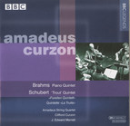 Amadeus Quartet & Curzon  Brahms: Piano Quintet  Schubert: \'Trout\' Quintet