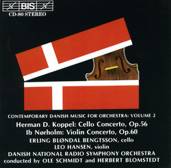 Contemporary Danish Music for Orchestra, Vol.2