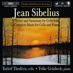 Sibelius - Music for Cello and Piano
