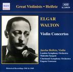 Elgar / Walton: Violin Concertos (Heifetz) (1941, 1949)