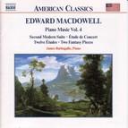 Macdowell: Second Modern Suite / Etude De Concert / 12 Etudes